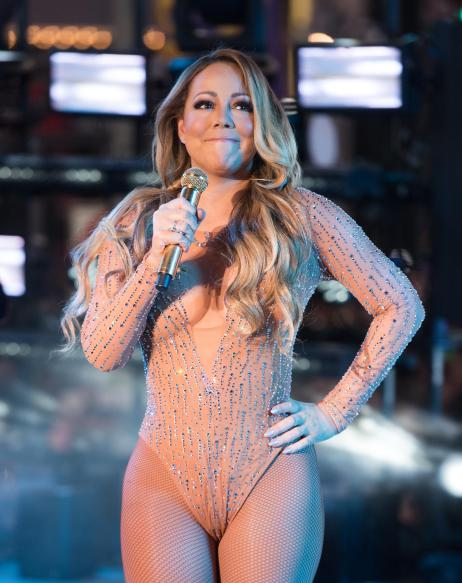 Image result for mariah carey nye 2017
