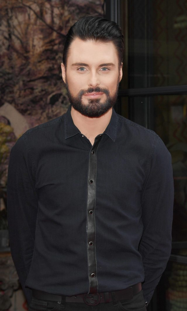 Derm always knew that Rylan would have a career in showbusiness