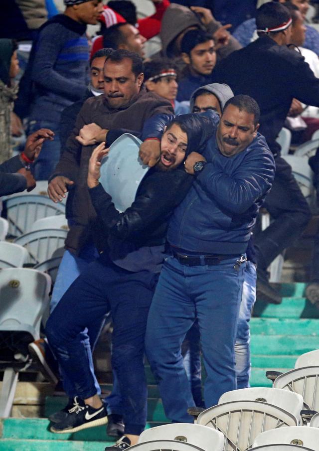Egypt vs Tunisia riot