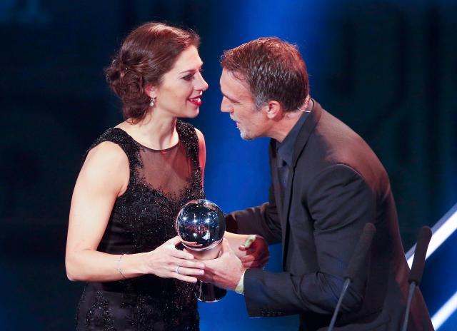 Carli Lloyd won the Fifa Best Female Player award for her true leadership