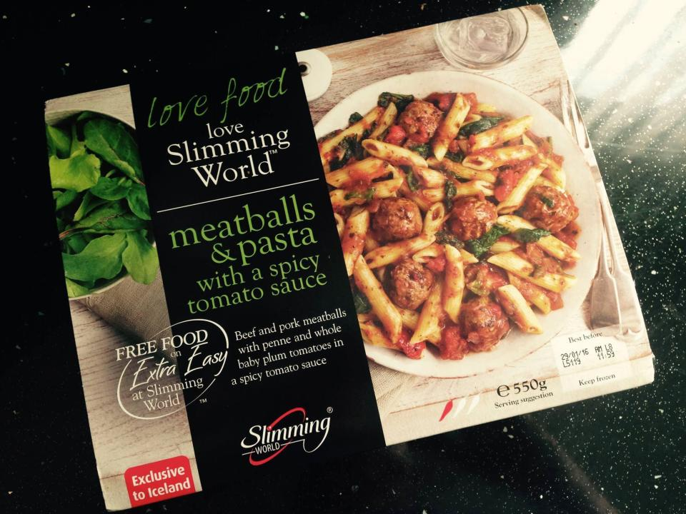 On the Slimming Worlddiet there's no calorie counting and no foods are banned