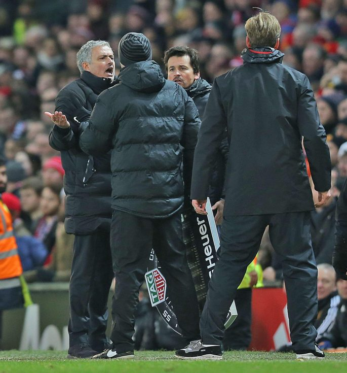 Mourinho and Klopp square up to each other