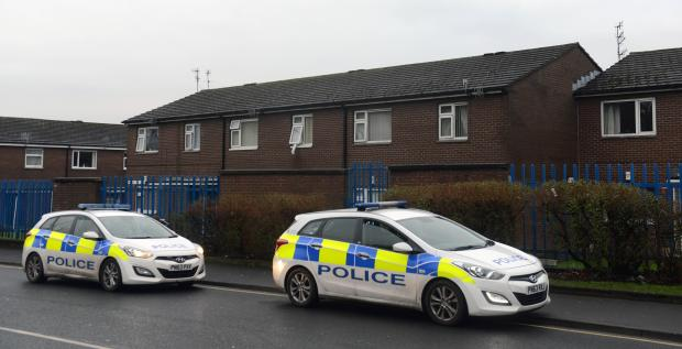 A murder investigation was launched after the body of a newborn baby girl was found in Wellington Court, Burnley
