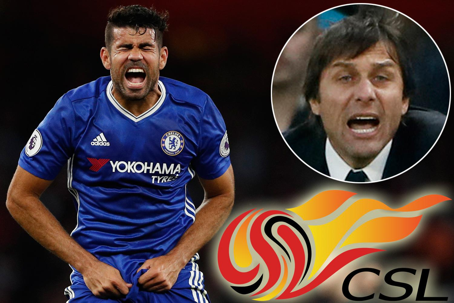 Chelsea supporters will never forgive Diego Costa if he cheques