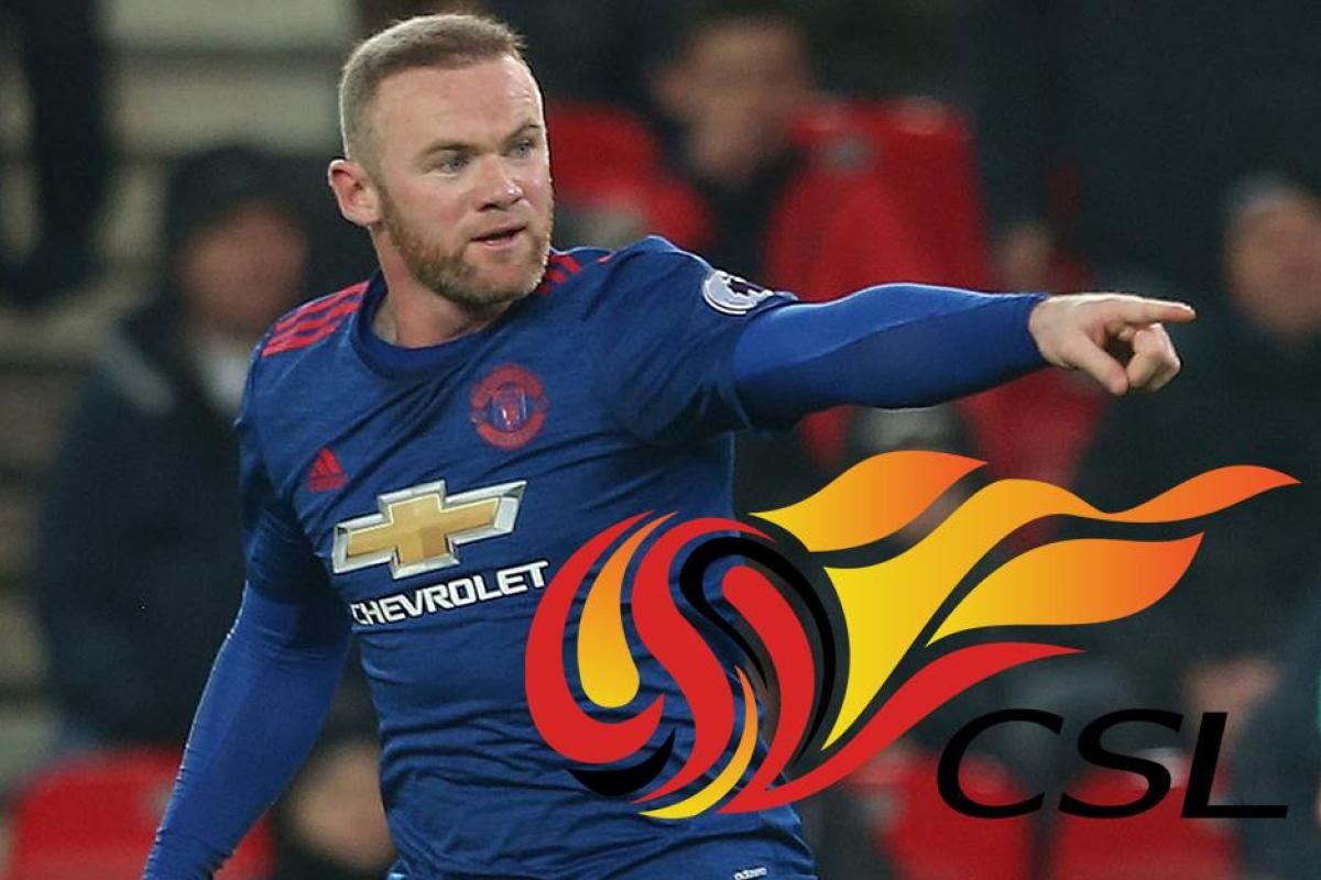 f083ed844a1 Wayne Rooney being lined up by Chinese Super League in stunning £1m A WEEK  deal after breaking Manchester United scoring record