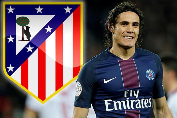 Paris Saint Germain transfer news Edinson Cavani reveals Atletico