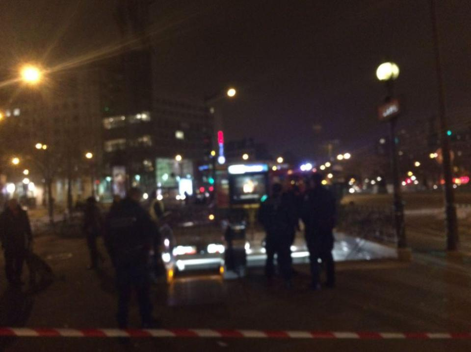 Eight people have reportedly been injured in the blast