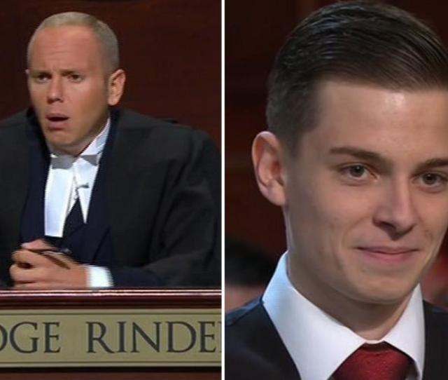 Judge Rinder Left Speechless By Lad Who Makes 4000 A Month Blowing Up Balloons And Cleaning His Teeth For Online Fetishists