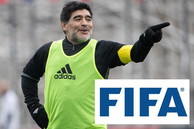 Diego Maradona handed new Fifa role with controversial