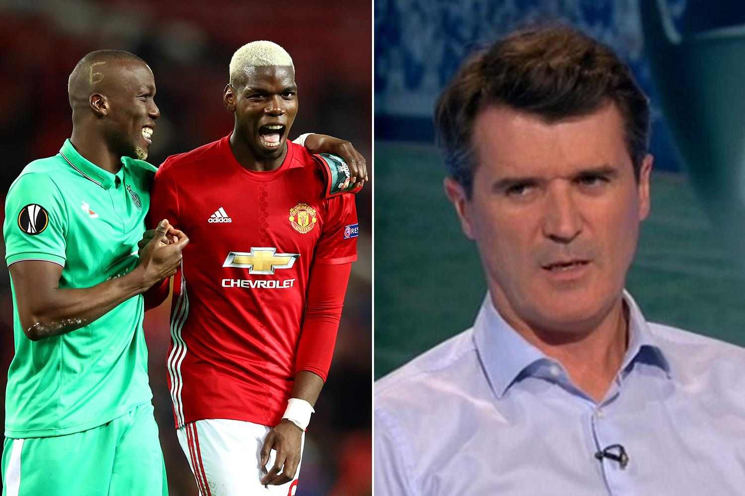Former Manchester United skipper Roy Keane blasts Paul Pogba for