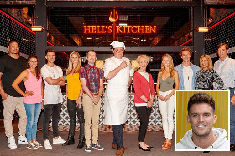 geordie shore's gaz beadle signs up for hell's kitchen australia