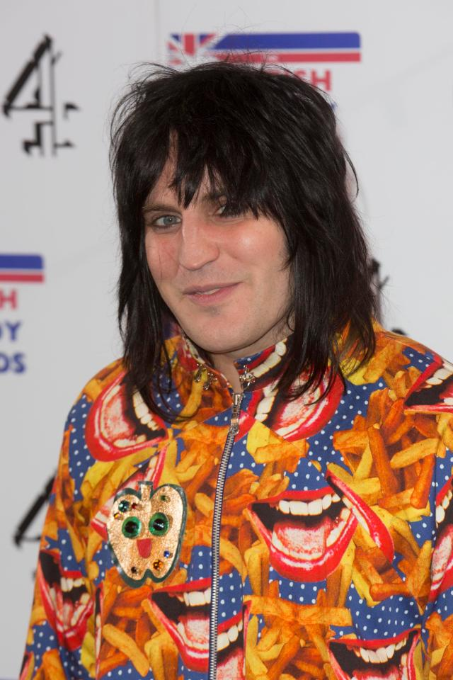 Noel Fielding swapped stand-up for cooking commentary on the popular baking show