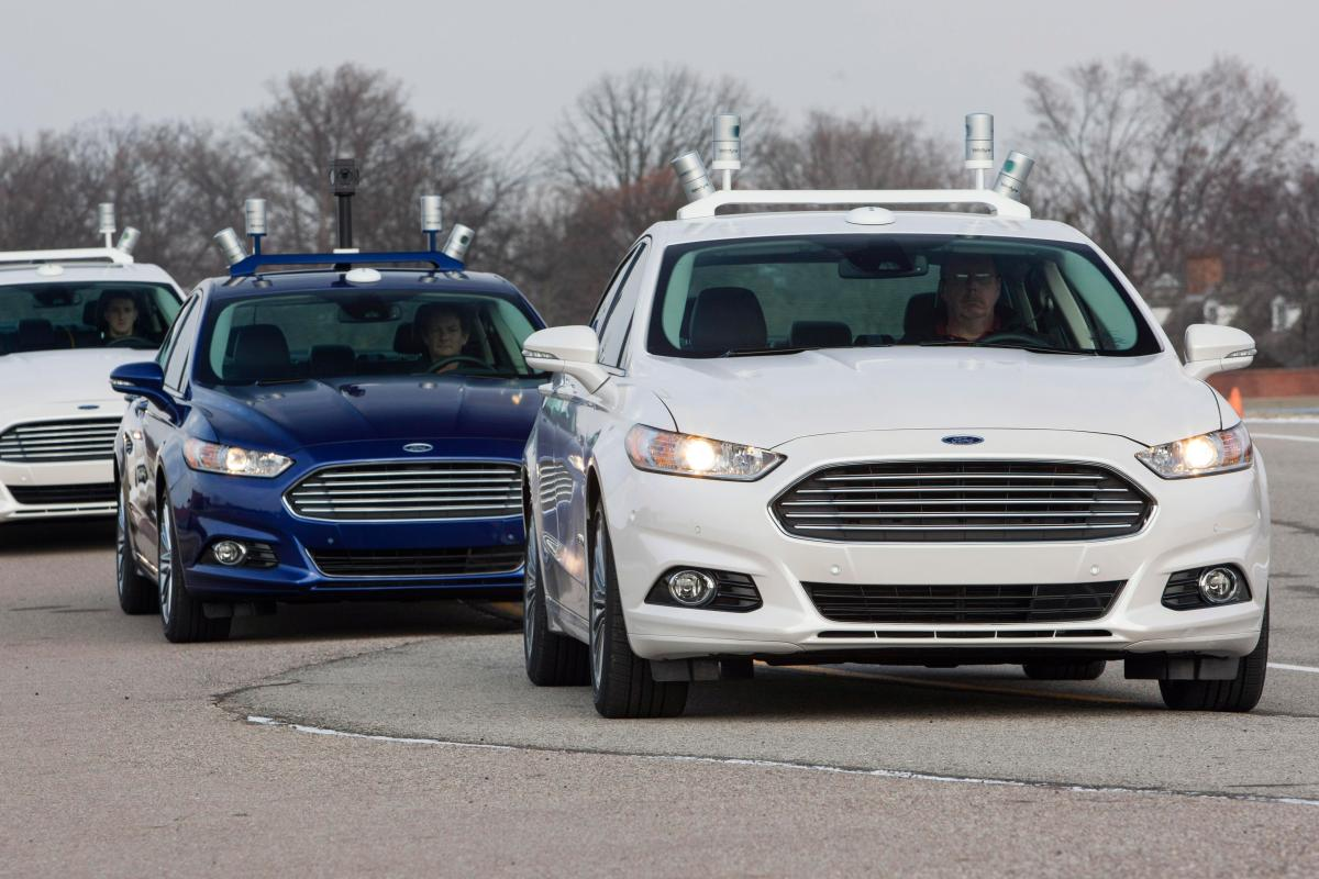 Ford motor company proves uk s most preferred manufacturer of driverless vehicles