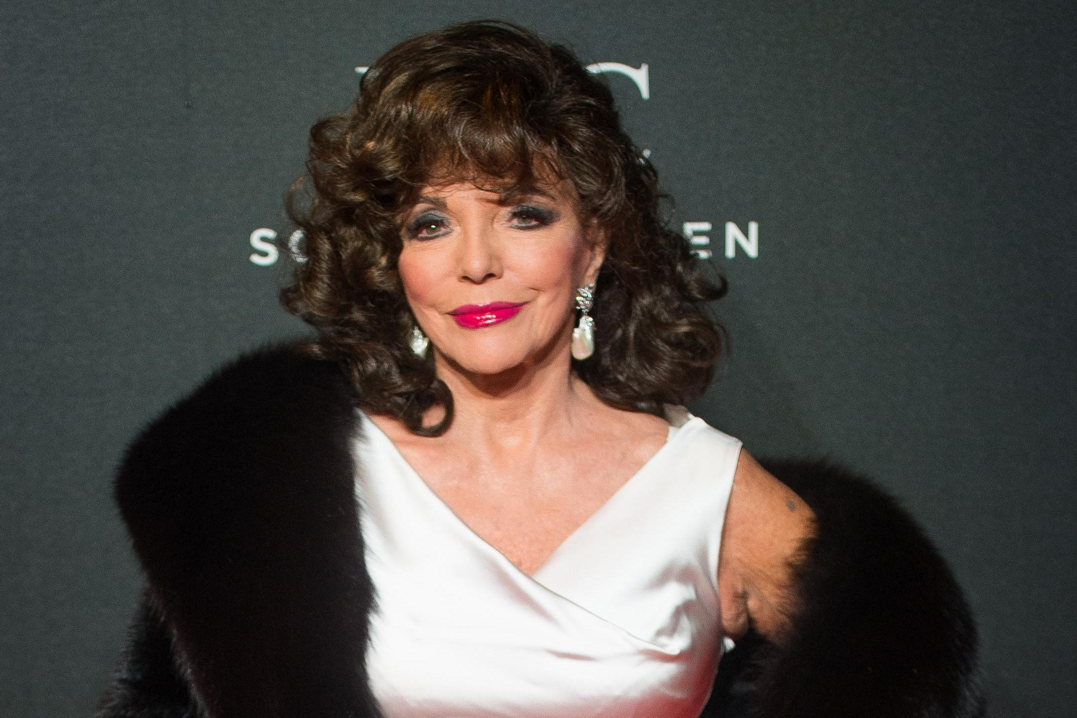 rooz Who is Joan Collins? Benidorm actress who plays Crystal Hennessy-Vass and The Time of Their Lives and Dynasty star image