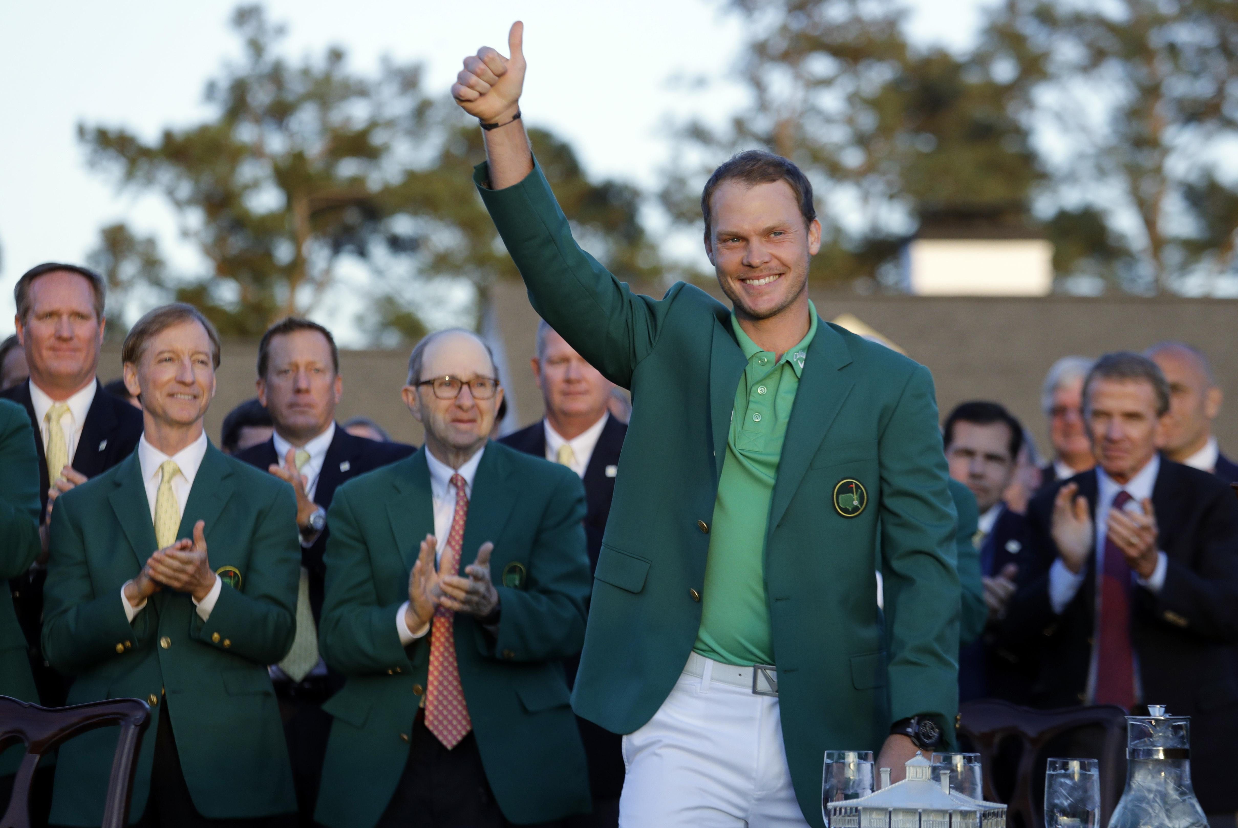 Brit Danny Willett will be defending his Masters title next week