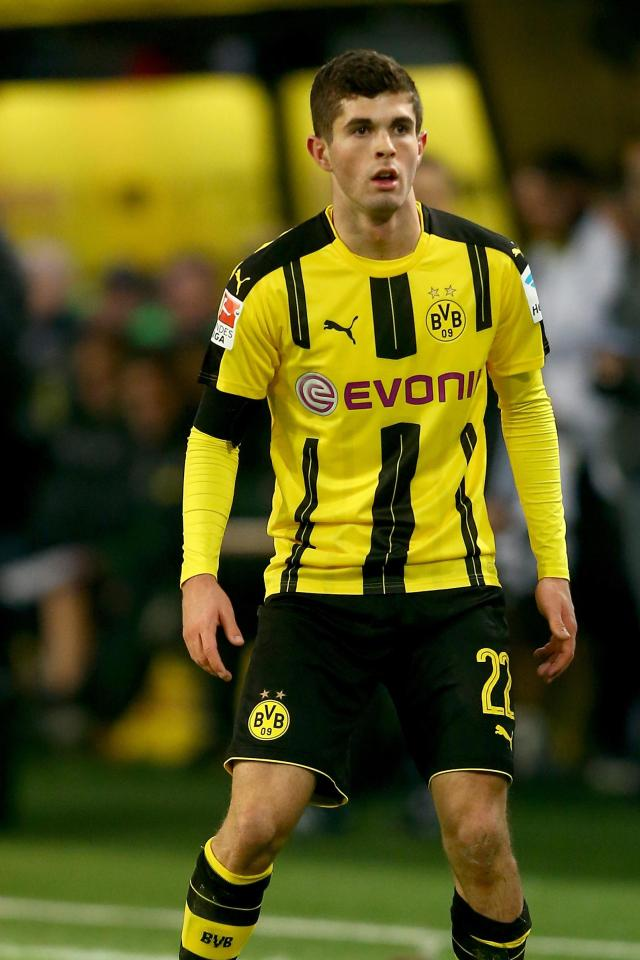 US-born Christian Pulisic has been turning heads in the Bundesliga this term