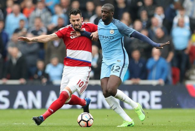 Manchester City icon Yaya Toure was targeted by the Gunners as a youngster