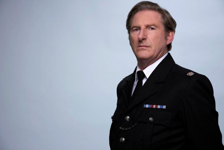 Adrian Dunbar has reprised his role as SI Hastings in Line of Duty