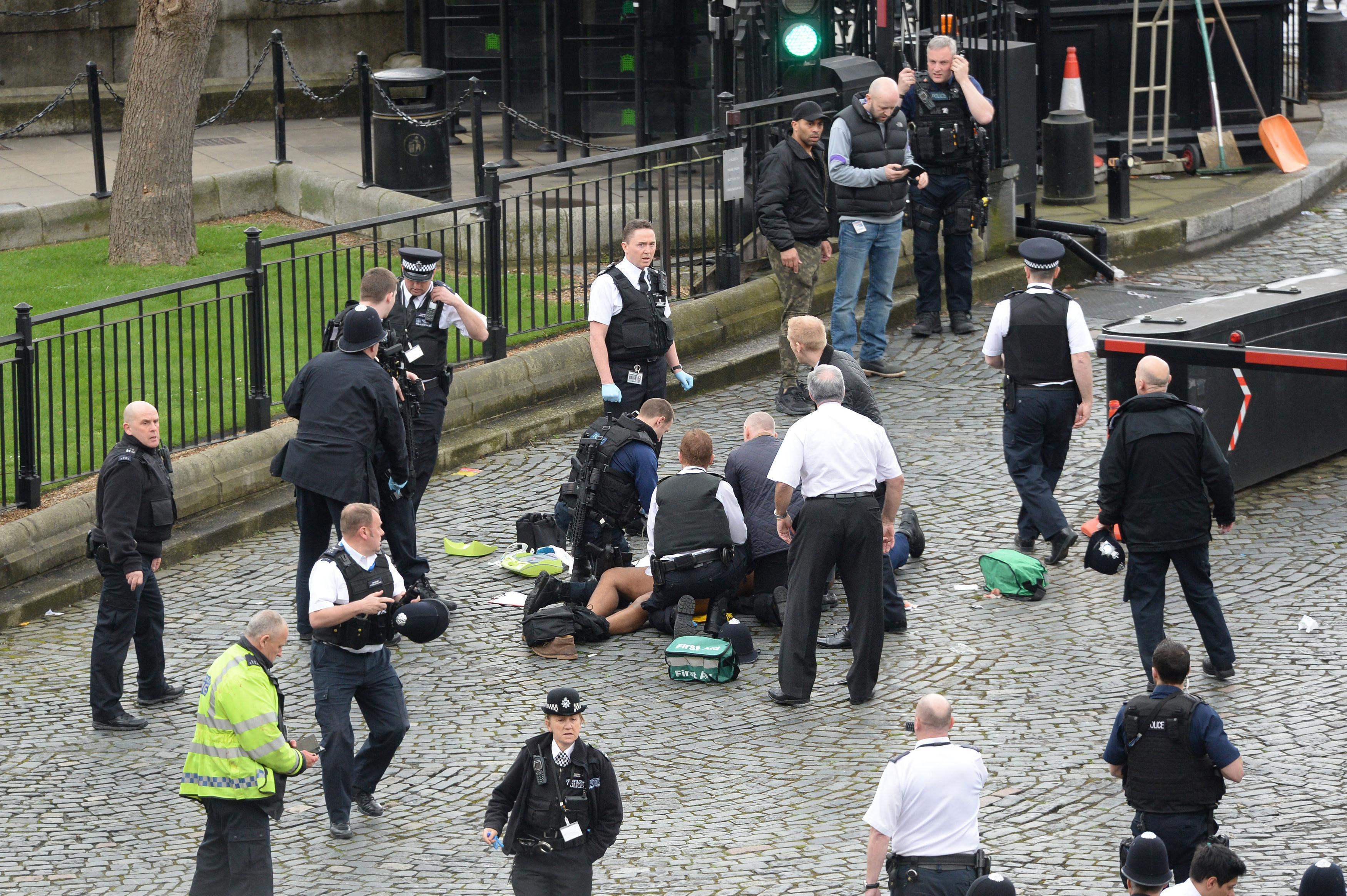 Image result for Terrorist attack in London: 2 places of war, news of death of many people