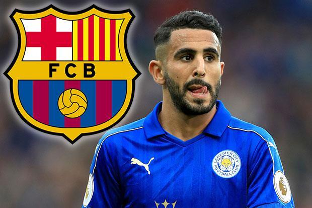 Barcelona transfer news Riyad Mahrez tar s £35million move from