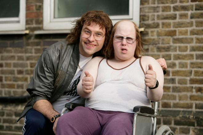 David and Matt Lucas played Andy and Lou on popular sketch show Little Britain