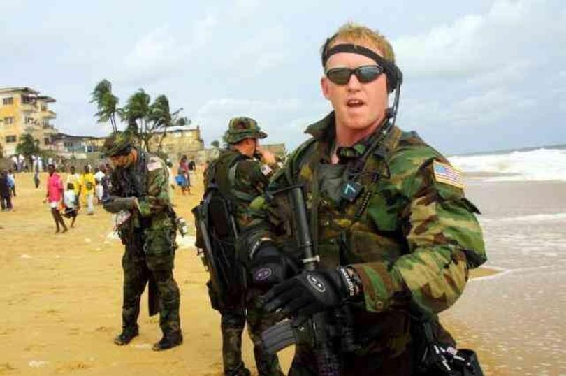 Rob O'Neill during his Navy Seal days