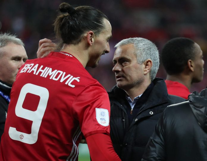 Image result for Ibrahimovic returns to Manchester United 2017