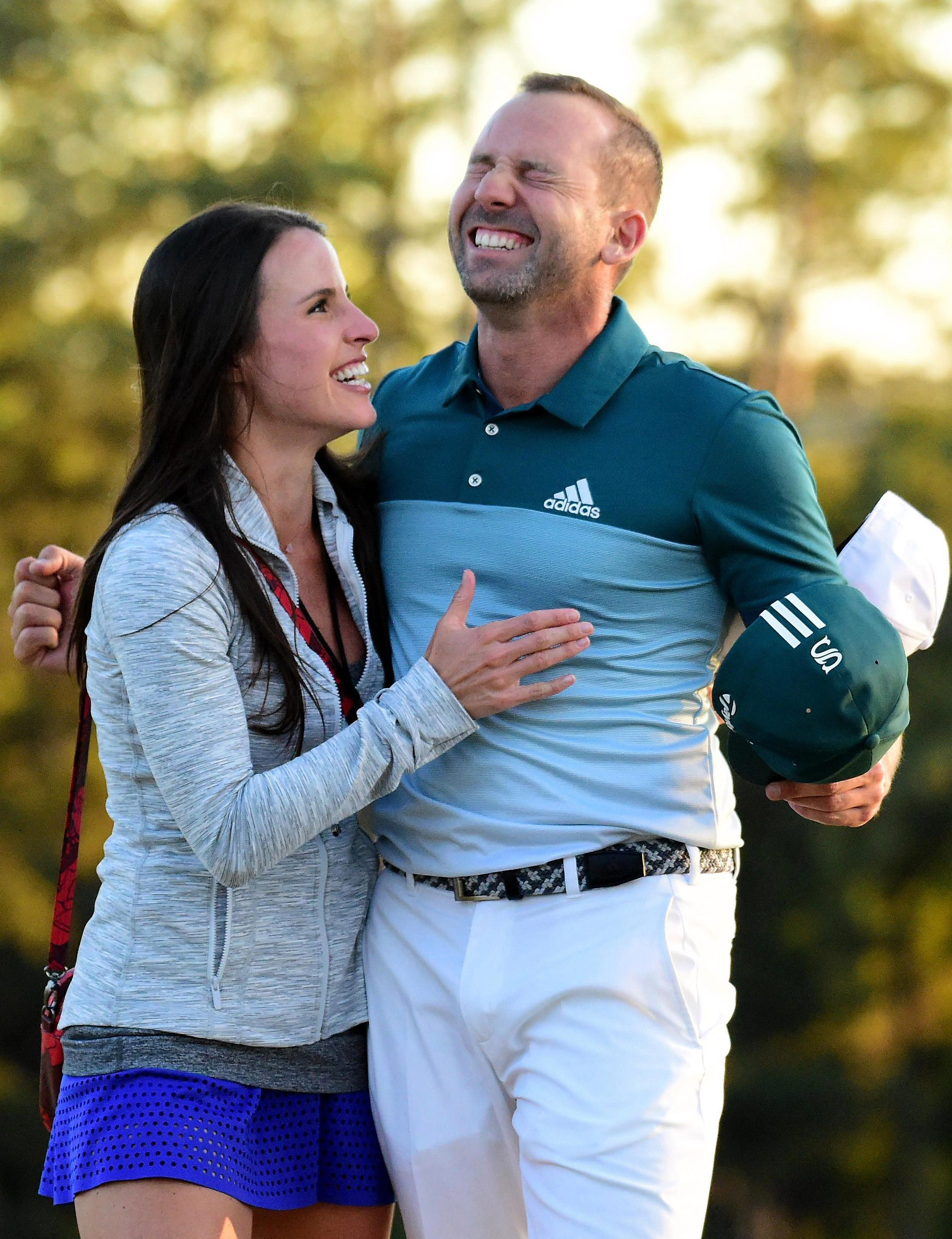 El Nino was overcome with emotion after a thrilling final-day shootout at Augusta