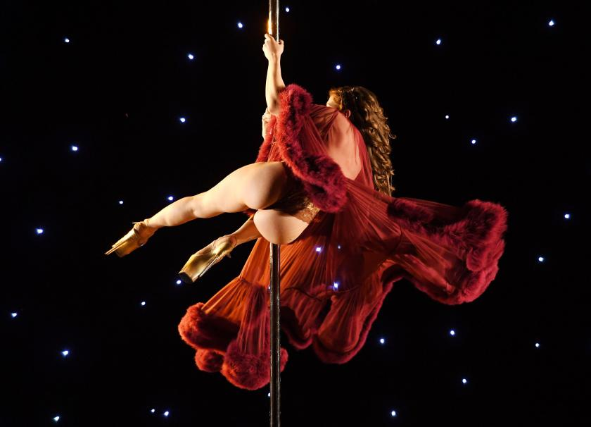 Combining dance and acrobatics, originally began as entertainment in strip clubs, pole dancing soon became mainstream as a form of exercise and expression