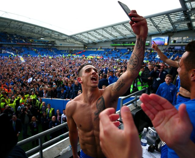 Anthony Knockaert has been the star for Brighton this season and could be a hit in the top flight too