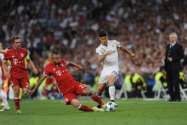 Marco Asensio scored in extra-time against Bayern Munich on Tuesday