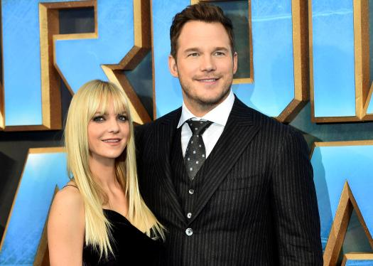 Towie fans… Anna Faris and Chris Pratt are heading to Essex