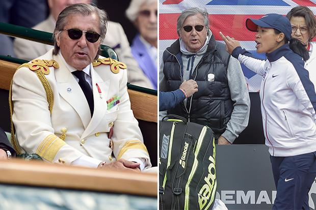 Ilie Nastase to be blacklisted from Wimbledon Royal Box this year