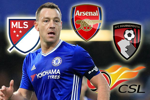 John Terry is leaving Chelsea this summer but will he end up in