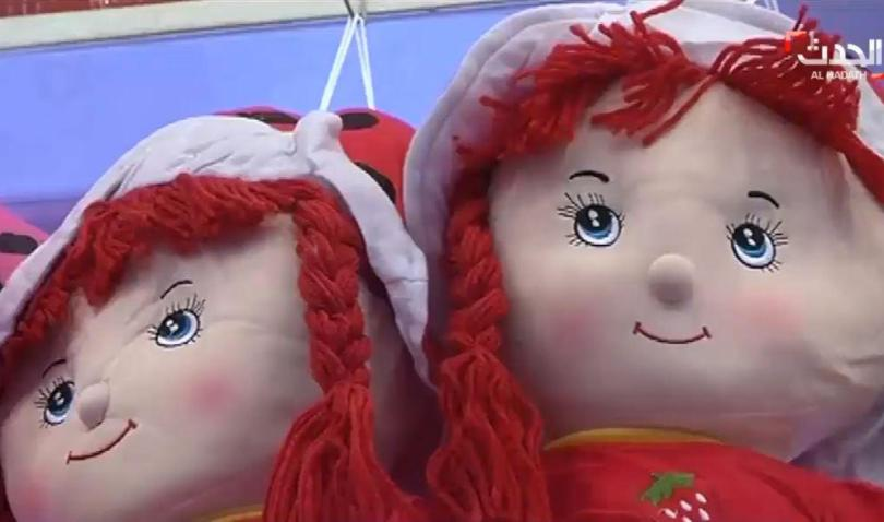 Dolls on sale again after they had been banned by ISIS because they depict a human face