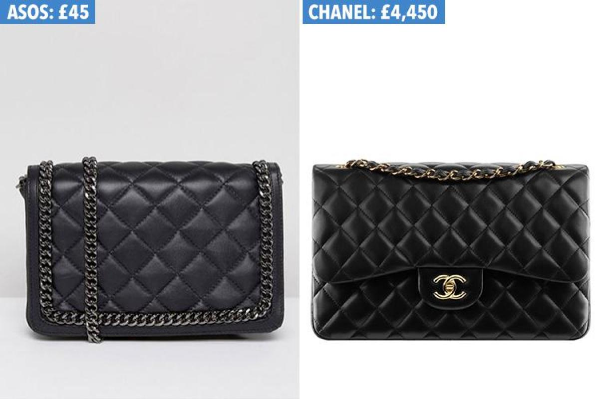 a8ba99bc50f925 This £45 leather ASOS handbag is 100 TIMES cheaper than Chanel's £4,450  version... and they're almost identical