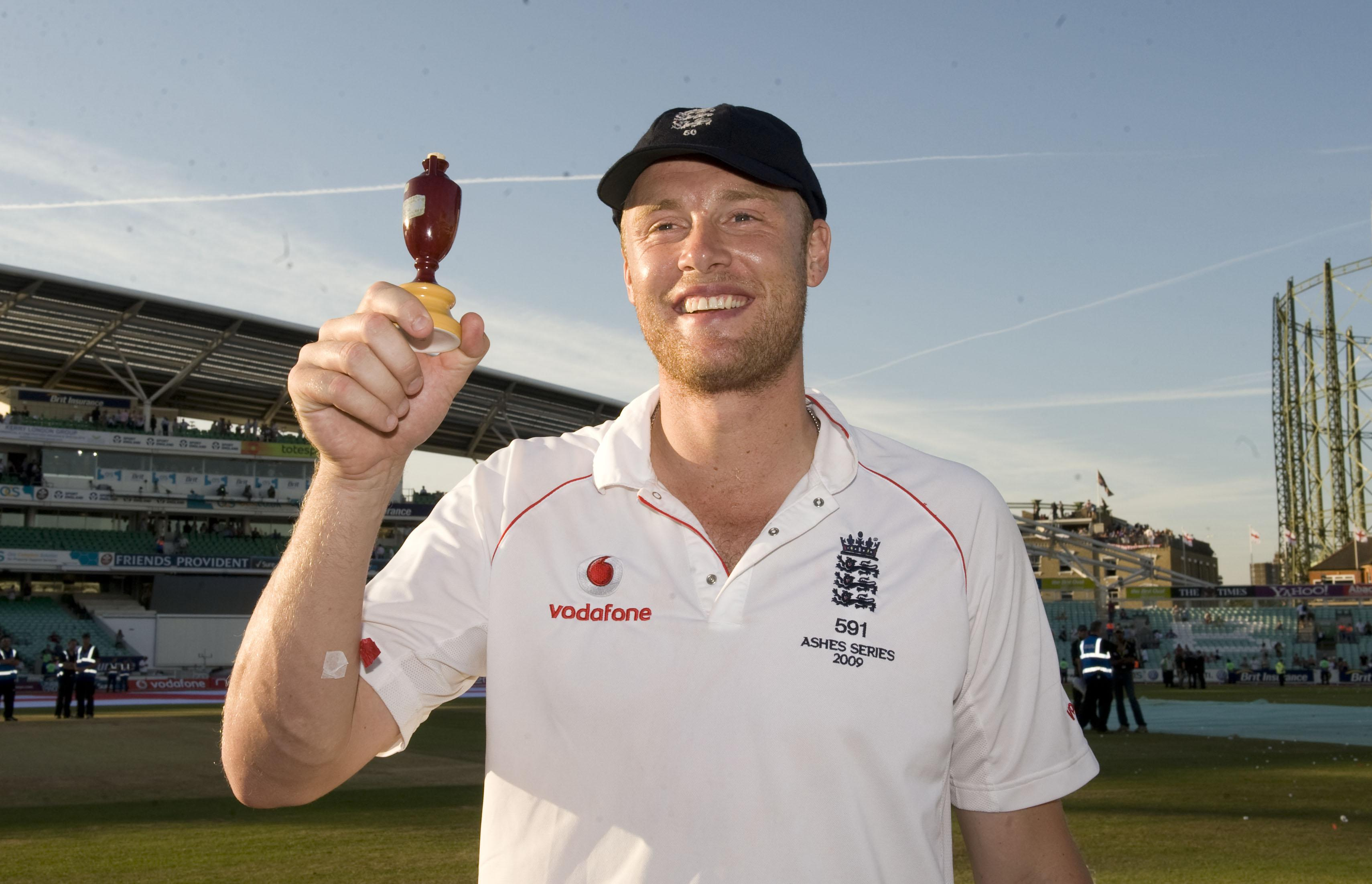 Flintoff was a two-time Ashes winner with England