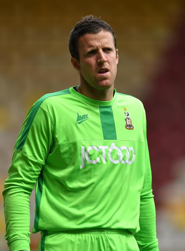 Colin Doyle has been on of Bradford's success stories of the season, with 18 shutouts in all competitions