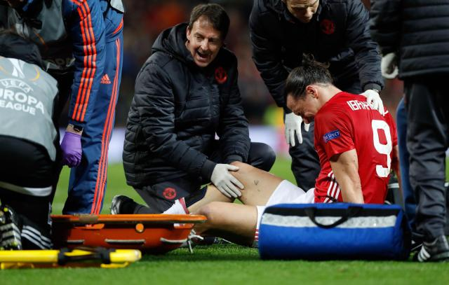 Zlatan Ibrahimovic suffered a serious knee injury last month which has threatened any new Manchester United deal
