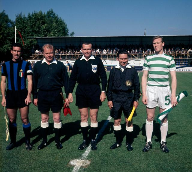 Celtic beat Inter Milan to win European Cup final in Lisbon in 1967