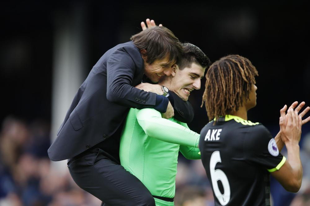 Chelsea boss Antonio Conte is desperate to keep Courtois from the clutches of Real Madrid