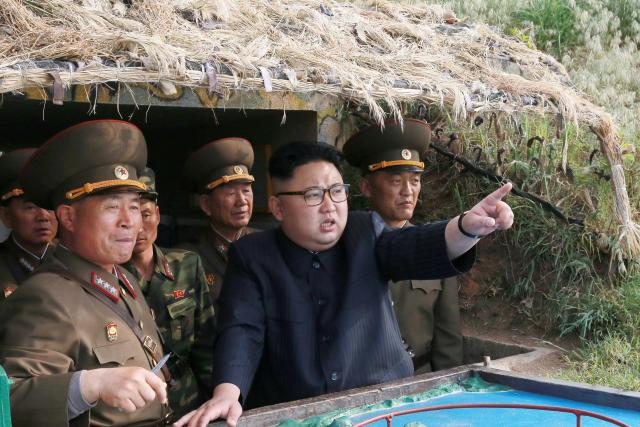 Kim Jong-un has vowed to carry on developing his nukes