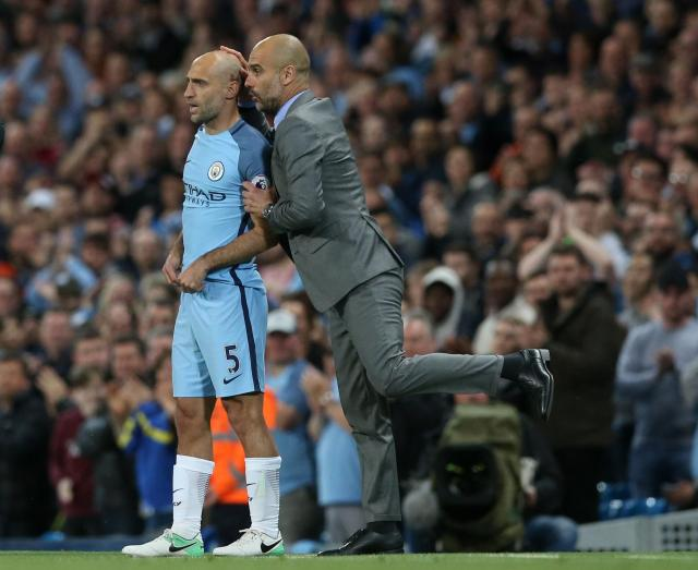Manchester City fans got to say their farewells to Pablo Zabaleta