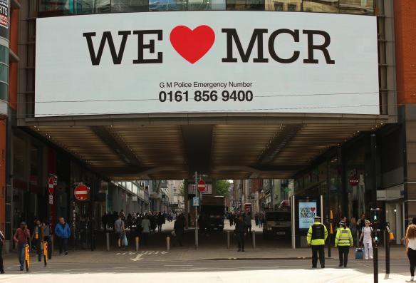 Image result for love manchester after bombing