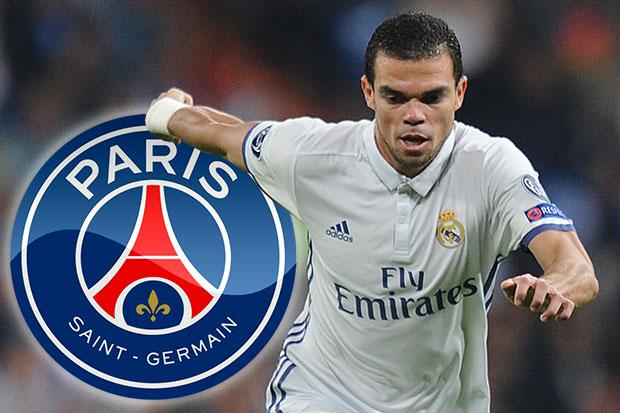 Real Madrid transfer news Pepe to Paris Saint Germain almost