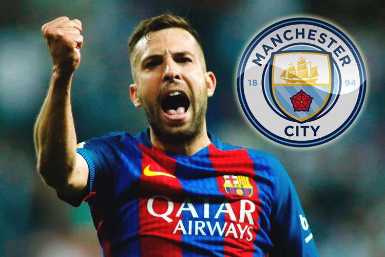 Jordi Alba could move to Manchester City because he does not want