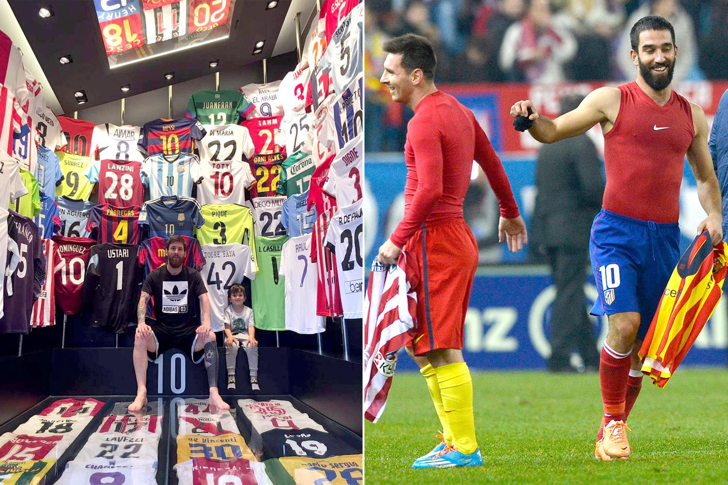 barcelona superstar lionel messi reveals his star-studded, Human Body