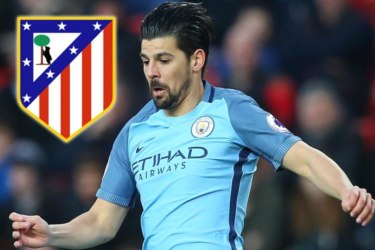 Nolito wants to leave Manchester City for either Atletico Madrid