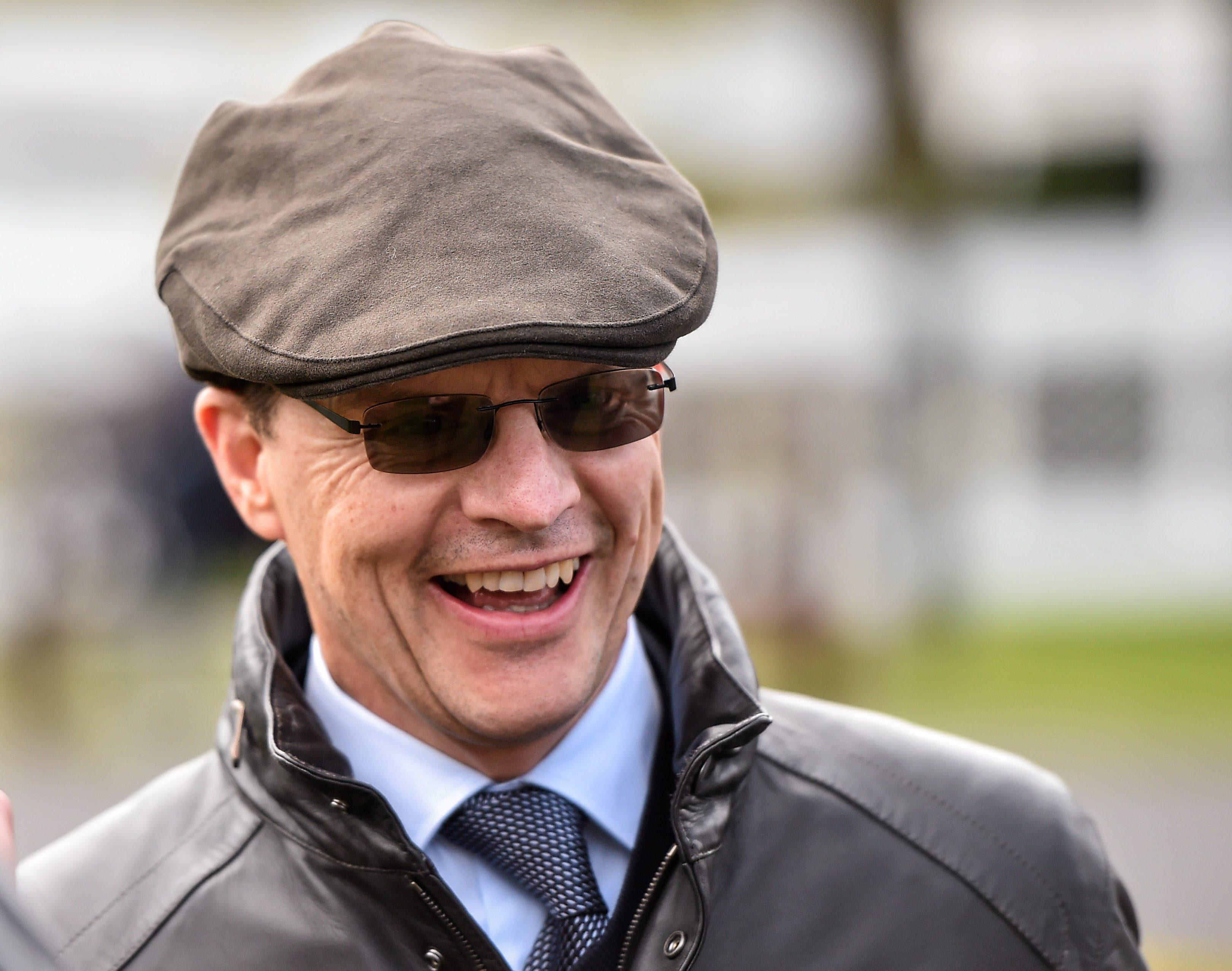 Aidan O'Brien sends Clear Skies over from Ireland