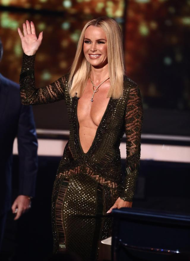 Britain's Got Talent's Amanda Holden steps out in ANOTHER racy dress